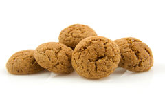 Pepernoten (ginger nuts) in closeup Royalty Free Stock Photos