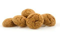 Pepernoten (ginger nuts) in closeup Royalty Free Stock Photos