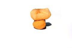 Pepernoten & x28; pepernoten& x29; , een een Nederlandse vakantie/Sinterklaas-snack Stock Foto's