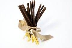 Pepero sticks royalty free stock images