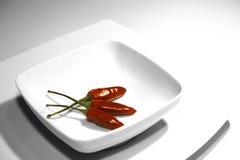 Peperoncini rossi Immagini Stock Libere da Diritti