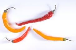 Peperoncini rossi Fotografia Stock