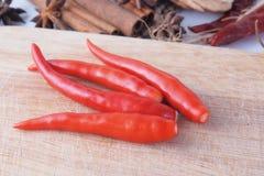 Peperoncini rossi Immagine Stock