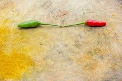Peperoncini rossi freschi Immagine Stock Libera da Diritti