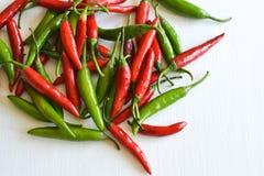 Peperoncini rossi tailandesi fotografia stock