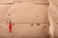 Peperoncini roventi Fotografie Stock
