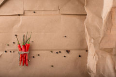 Peperoncini roventi Fotografia Stock Libera da Diritti
