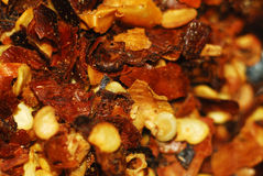 Peperoncino. Macro shot of spicy chili pepper Stock Photo