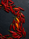 Peperoncino chilli peppers Stock Photo