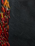Peperoncino chilli peppers Stock Images