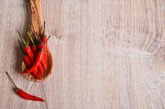 Peperoncino di cayenna Immagini Stock