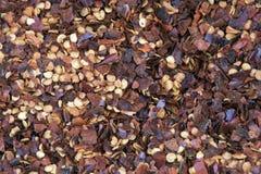 Peperoncino für Verkauf im Freiluftmarkt Lizenzfreies Stockbild