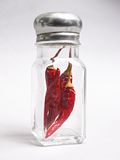 Peperoncino rosso asciutto Fotografie Stock Libere da Diritti