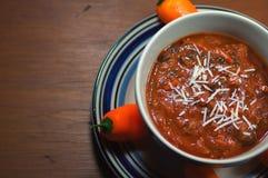 Peperoncino rosso caldo Fotografia Stock Libera da Diritti