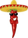 Peperoncino rosso caldo messicano Fotografie Stock Libere da Diritti