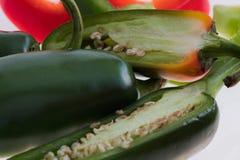 Peperoncino rosso del jalapeno Immagini Stock