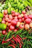 Peperoncino rosso organico Fotografia Stock Libera da Diritti