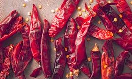 Peperoncino rosso rosso Fotografie Stock Libere da Diritti