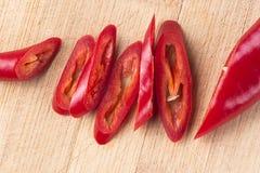 Peperoncino rosso rosso fresco Immagine Stock Libera da Diritti