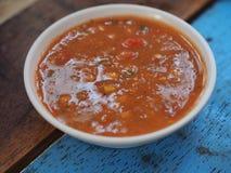 Peperoncino rosso, tailandese Fotografia Stock