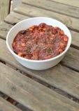 Peperoncino rosso vegetariano fotografia stock libera da diritti