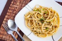 Peperoncinospaghetti Stock Afbeelding