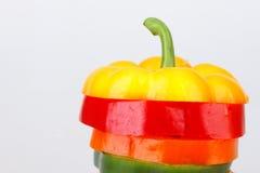 Peperone dolce affettato Immagine Stock Libera da Diritti