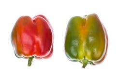 Peperone dolce bulgaro variopinto Fotografia Stock Libera da Diritti