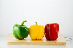 Peperone dolce e peperoncino rosso Fotografia Stock Libera da Diritti