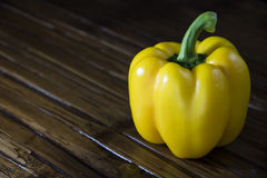 Peperone dolce giallo immagini stock
