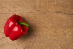 Peperone dolce rosso bulgaro dolce Fotografie Stock Libere da Diritti