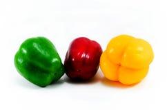 Peperone dolce a tre colori Fotografia Stock Libera da Diritti