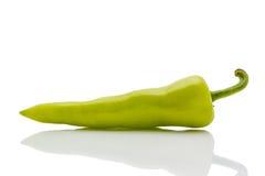 Peperone verde Fotografia Stock