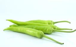 Peperone verde Immagini Stock Libere da Diritti