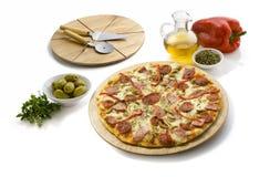 peperoni τυριών πίτσα Στοκ φωτογραφία με δικαίωμα ελεύθερης χρήσης