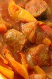 Peperoni 161 della salsiccia Immagini Stock Libere da Diritti