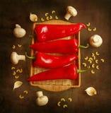 Peperoni Fotografie Stock Libere da Diritti