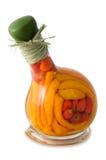 Peperoni in bottiglia Fotografia Stock