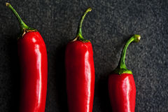 Peperoni caldi Fotografie Stock Libere da Diritti