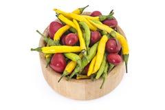 Peperoni caldi Fotografia Stock Libera da Diritti