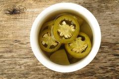 Peperoni del jalapeno Immagine Stock