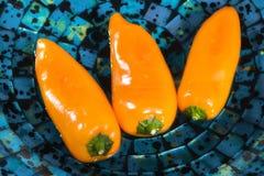 Peperoni della paprica Immagini Stock Libere da Diritti