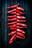 Peperoni di Espelette Fotografie Stock