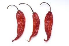 Peperoni di peperoncino rosso Immagine Stock Libera da Diritti