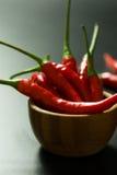 Peperoni di peperoncino rosso rosso immagine stock