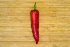 Peperoni di peperoncino rosso roventi E immagini stock libere da diritti
