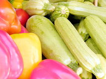 Peperoni di Tel Aviv e zucchini 2011 Immagine Stock Libera da Diritti