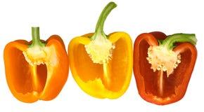 Peperoni dolci 1 Fotografie Stock Libere da Diritti