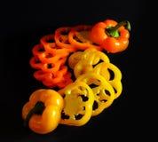 Peperoni dolci affettati Fotografie Stock Libere da Diritti
