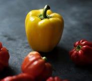 Peperoni dolci dolci freschi Immagini Stock